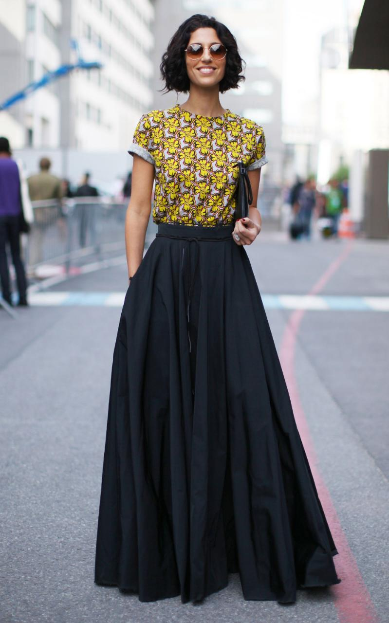 What to wear with a maxi skirt formal – Modern skirts blog for you