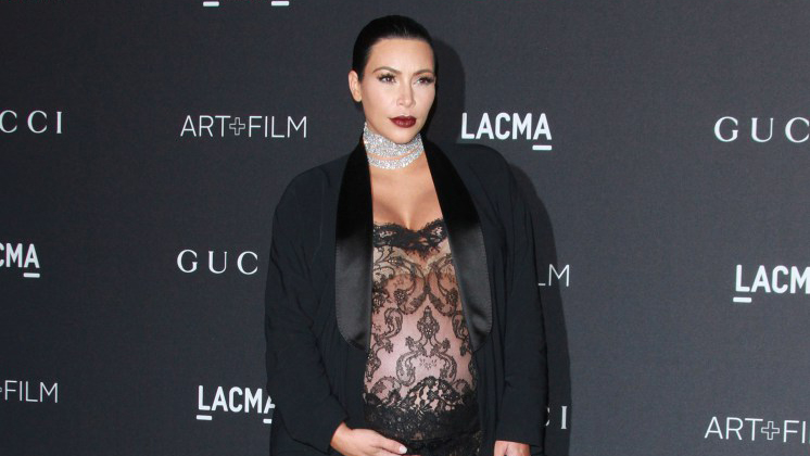 2015 LACMA Art + Film Gala held at LACMA  Featuring: Kim Kardashian West Where: Los Angeles, California, United States When: 07 Nov 2015 Credit: Adriana M. Barraza/WENN.com