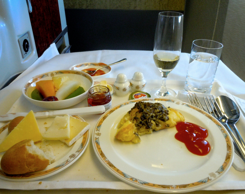 Now that is a mile-high breakfast of champions! Photo: Sarah Ackerman / Flickr