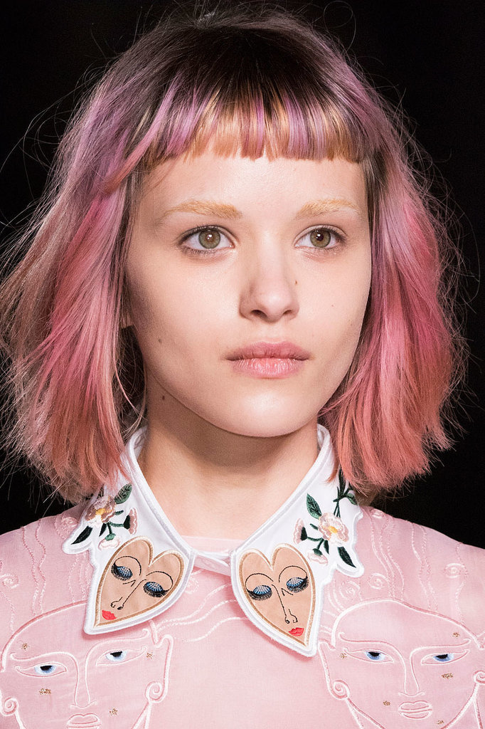 Runway-Ready Rainbow Hair Proves the Trend Is Totally Chic – Fashion ... 289f7d45d660c