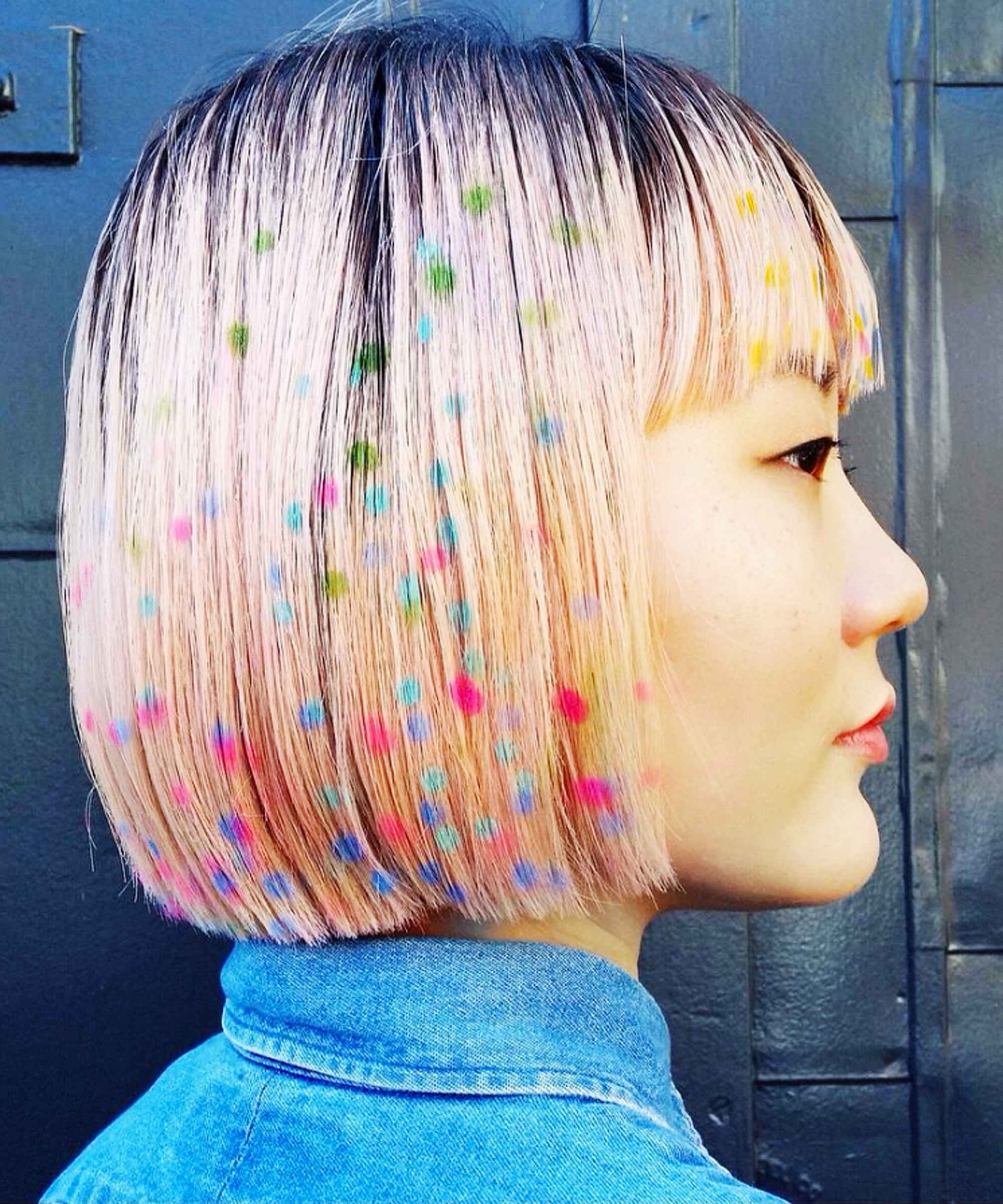 Hair Stenciling Is The Prettiest Color Trend You Need To Know