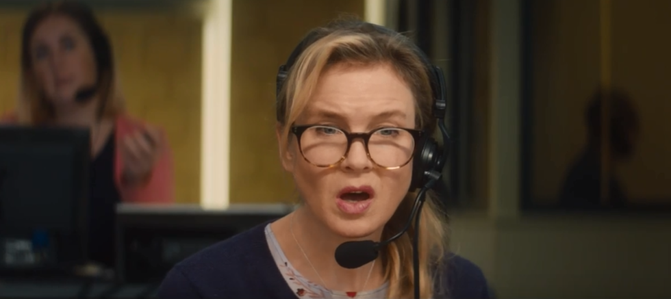 The new trailer shows Bridget at the top of her game career-wise - but not everything's going to plan