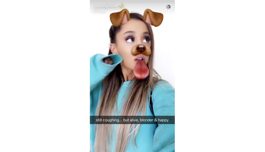 Ariana Grande Looks Absolutely Stunning With A New Blonde