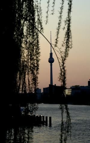 View of the TV Tower in Berlin. Athanasios Gioumpasis/Getty Images
