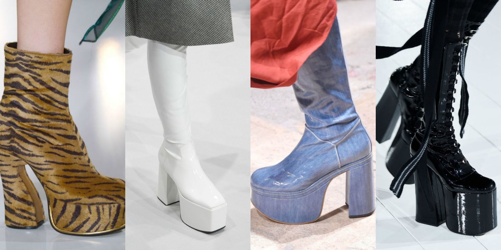 Fall Winter 2016 2017 Shoe Trends Mid Calf Boots