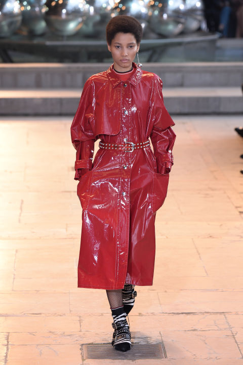 elle-winter-trends-isabel-marant-patent-trench-gettyimages-513720398