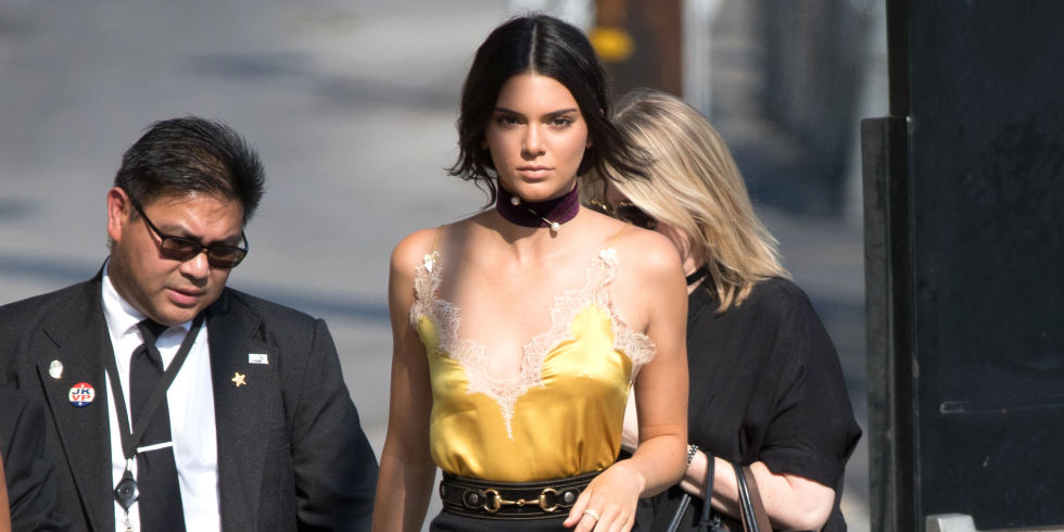 Kendall Jenner Wears Boots and a Mini-Skirt, Looks a Million Feet ...