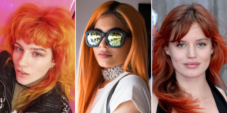 How to get the PERFECT Copper Orange Hair for Fall  Start to Finish  Laurasia Andrea