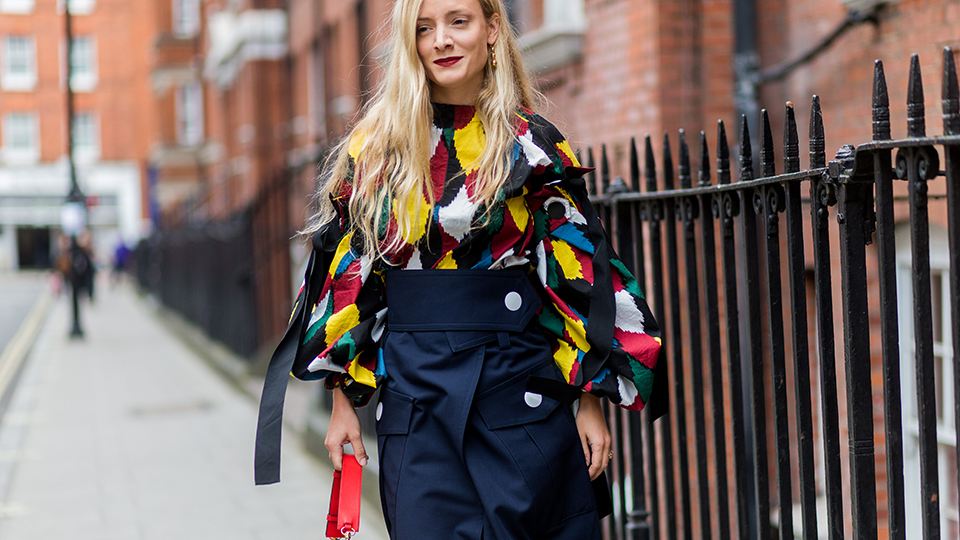 All The Must See Street Style From London Fashion Week Spring 2017 Fashion Magazine Cometrend