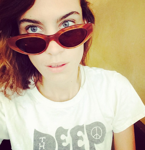 Photo credit: Instagram of Alexa Chung