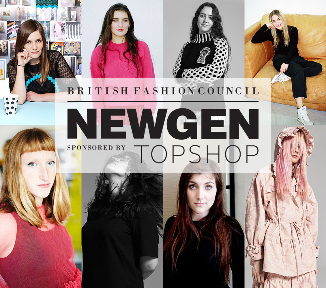 New Generation September Recipients. Image from bfc-uk-fashionnetwork.com