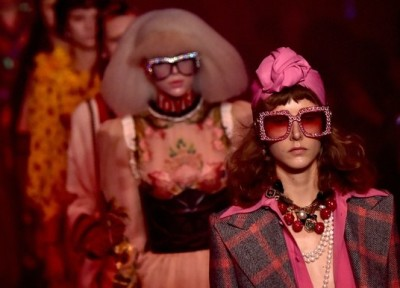 Gucci spring 2017 AFP/Getty Images