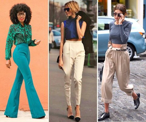 Silhouette Inspiration S 17 High Waist Trousers