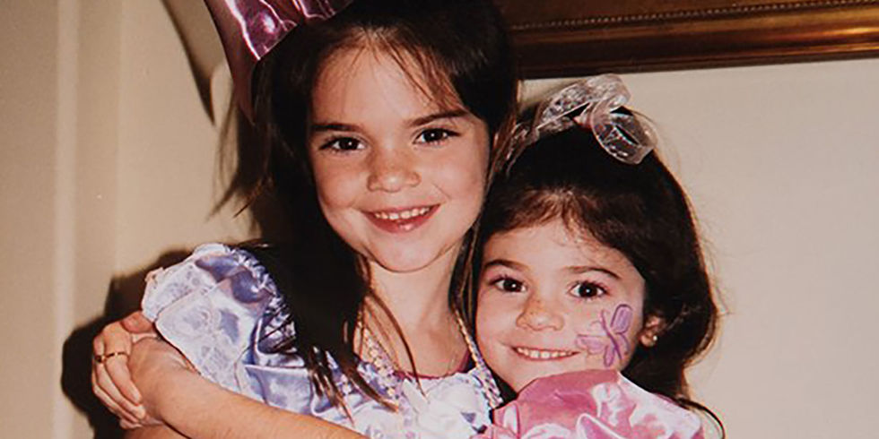 these photos of kendall and kylie jenner as little kids are insanely adorable - Images Of Little Kids