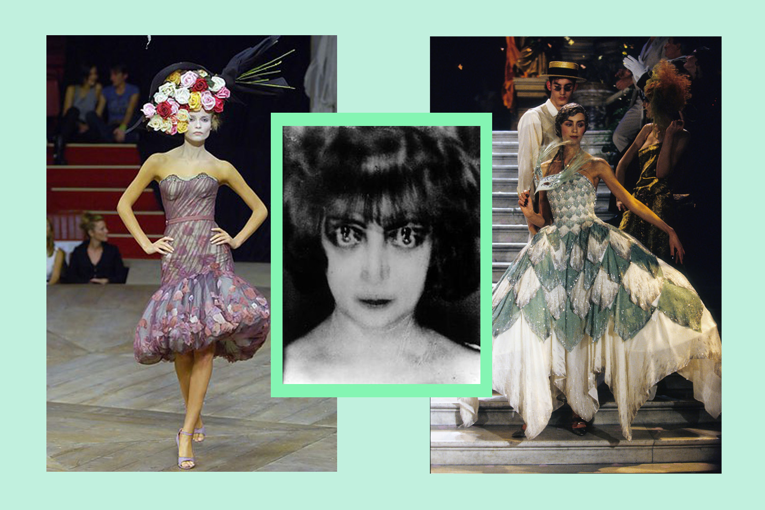 Images courtesy of Alexander McQueen, Man Ray and Christian Dior