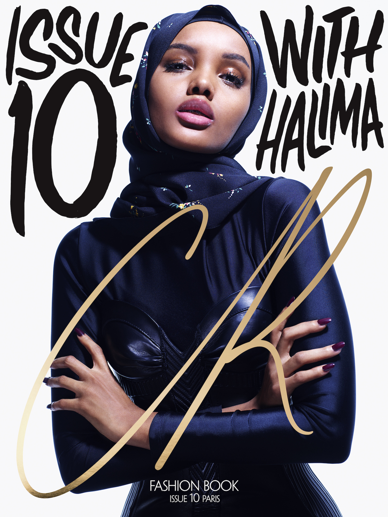 Halima Aden's CR Fashion Book cover.  / Mario Sorrenti/CR  FASHION BOOK