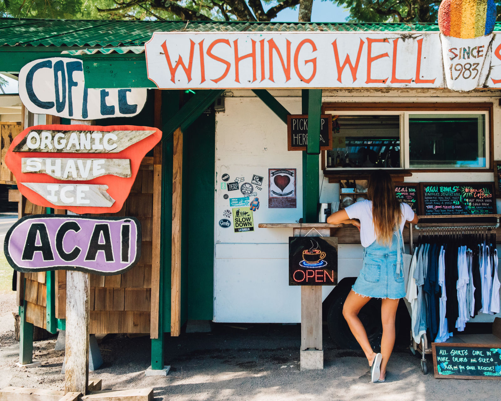 The island's infamous Wishing Well Shave Ice  / Bryce Johnson