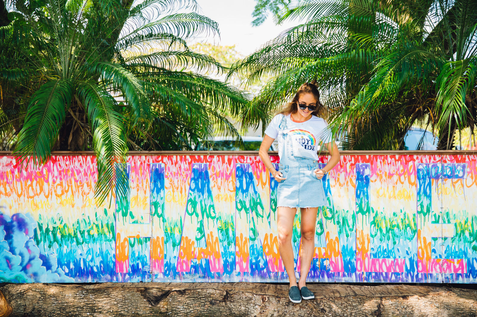 The Hanalei Rainbow, with Kiana wearing Sanuk  / Bryce Johnson