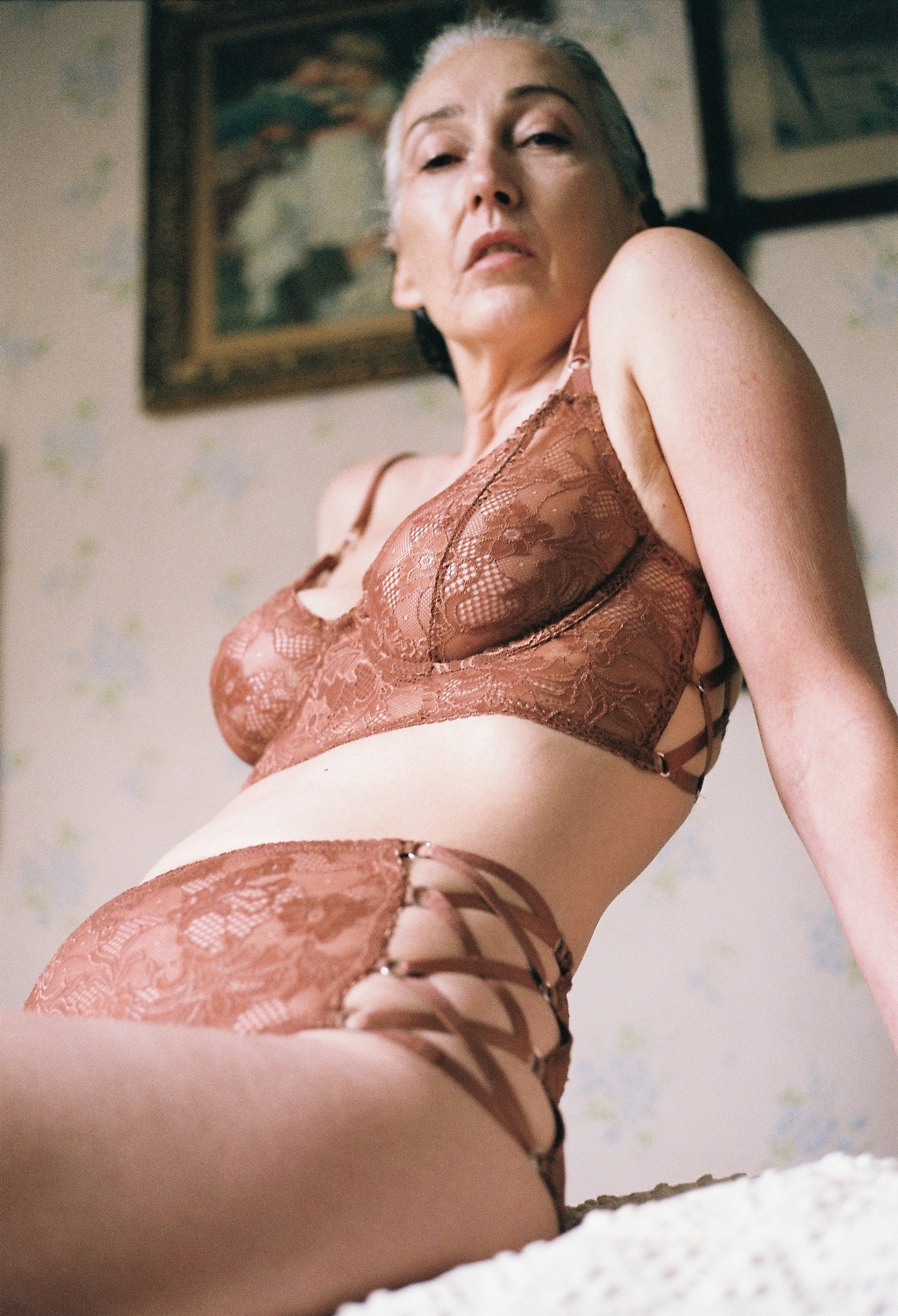Mercy Brewer models in Lonely Lingerie's new campaign.  / LONELY LINGERIE