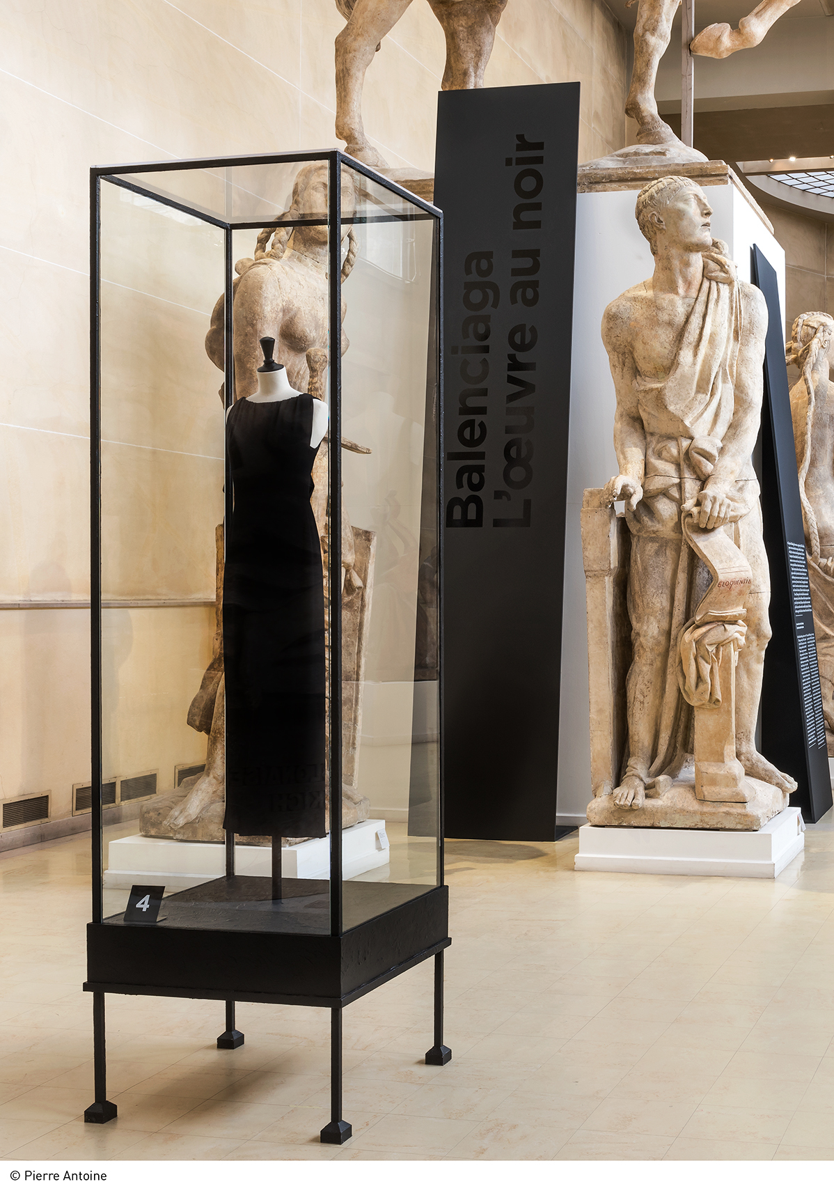 70 Balenciaga pieces are now on display at the Musée Bourdelle in Paris.  / Pierre Antoine