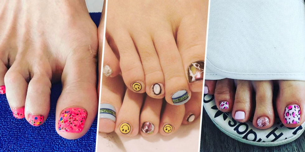 Forget Your Hands–Toe Nail Art Is Everything Right Now – Fashion ...