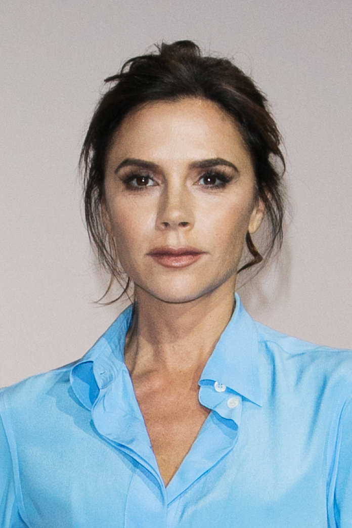 PARIS, FRANCE - JANUARY 23:  Victoria Beckham attends the International Woolmark Prize 2017 Menswear And Womenswear Finals as part of Paris Fashion Week on January 23, 2017 in Paris, France.  (Photo by Marc Piasecki/WireImage)