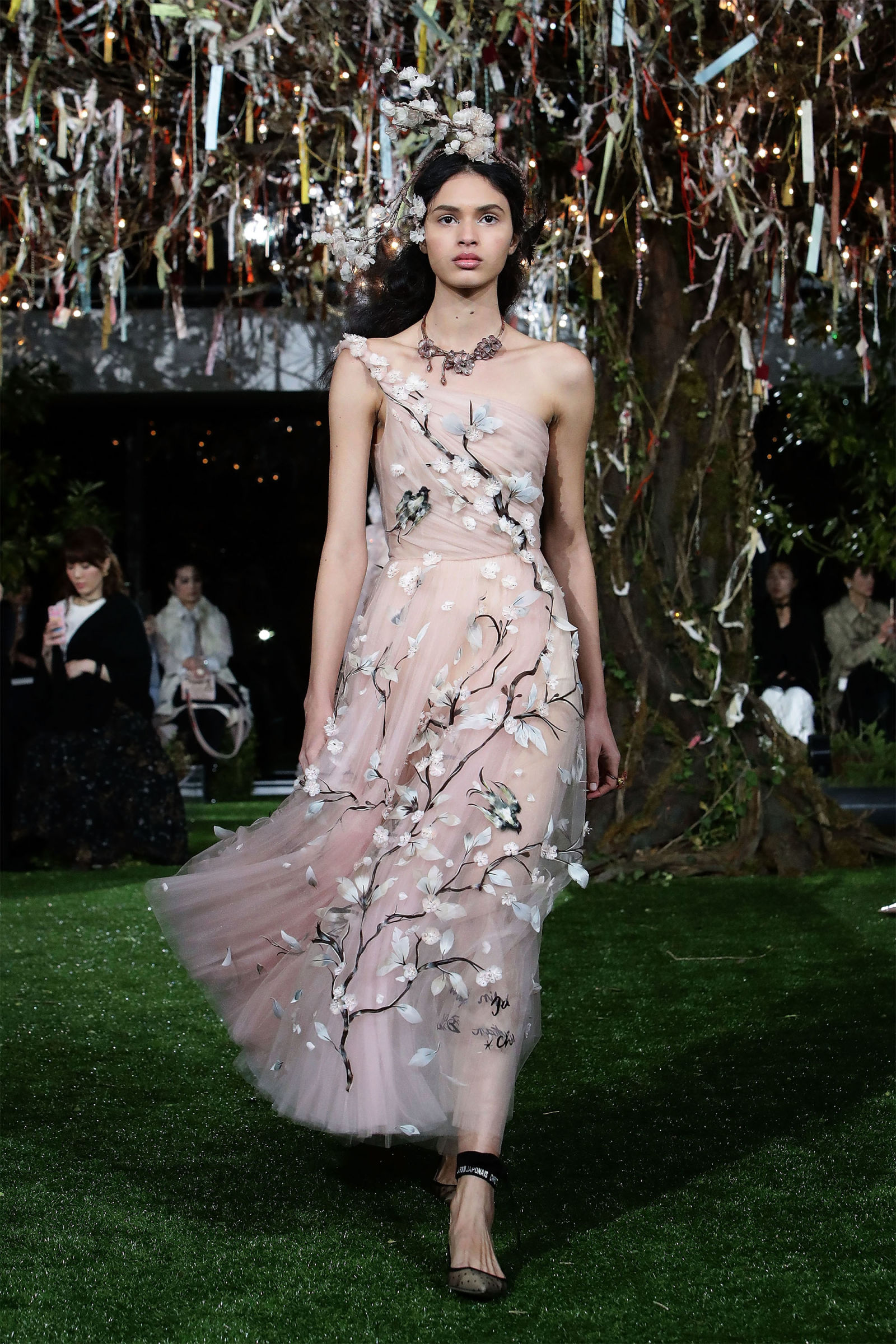 Dior Unveils Stunning Cherry Blossom-Inspired Couture Gowns In Tokyo ...