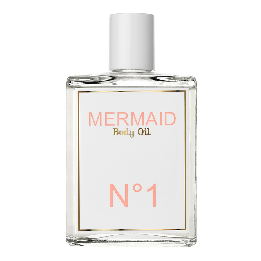 MERMAID N° 1 MERMAID PERFUME BODY OIL, RM295  Orange blossoms and the scent of ocean waves anchored in warm tropical coconut oil.