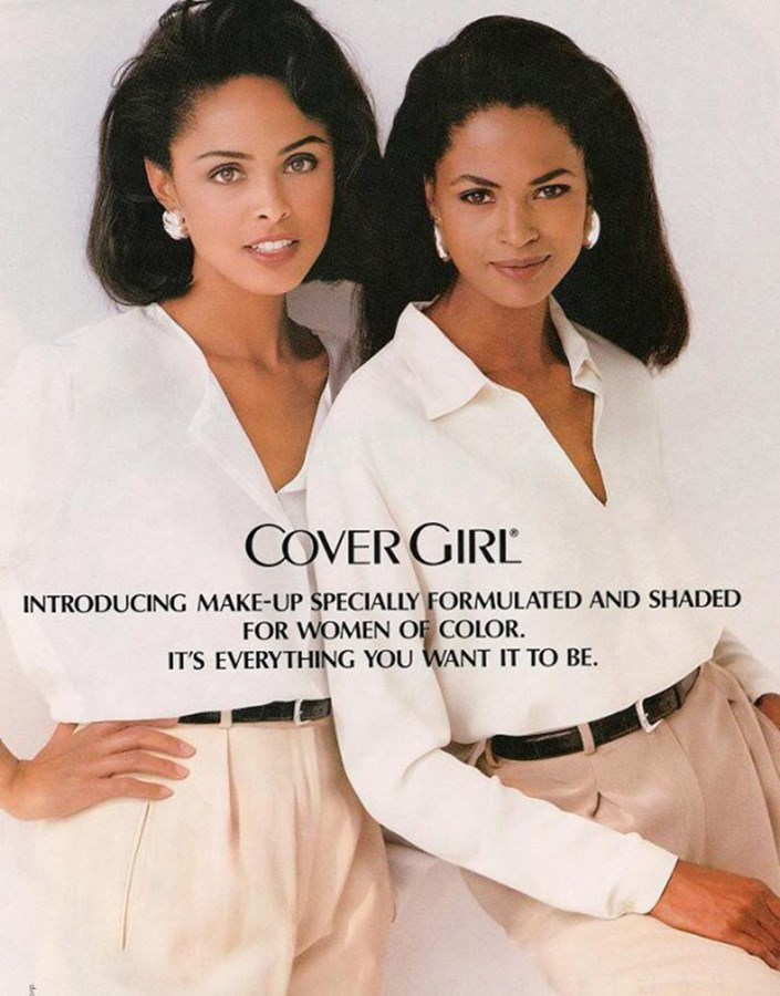 Lana Ogilvie and Karen Alexander for Cover Girl (1993)