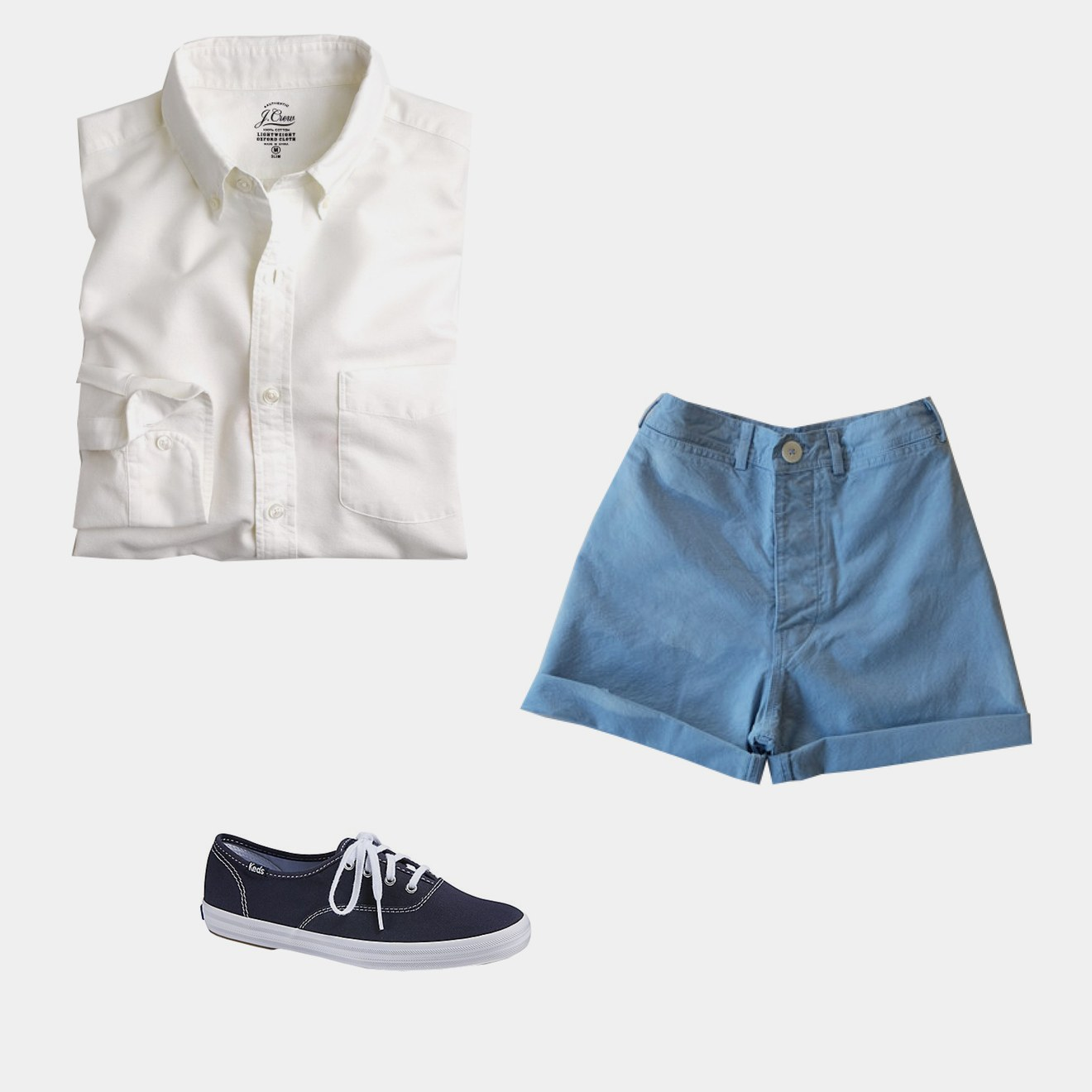 Photo: (Clockwise from top left) Courtesy of jcrew.com; Courtesy of jessekamm.world; Courtesy of keds.com