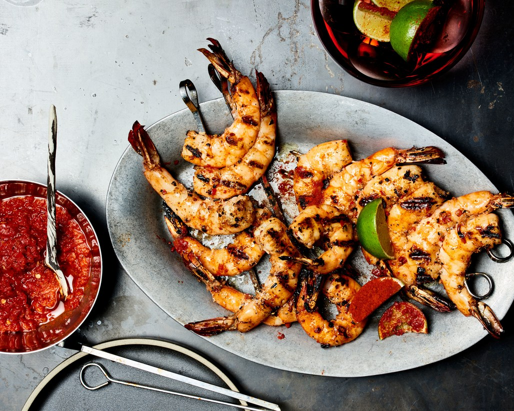 grilled-garlic-and-black-pepper-shrimp