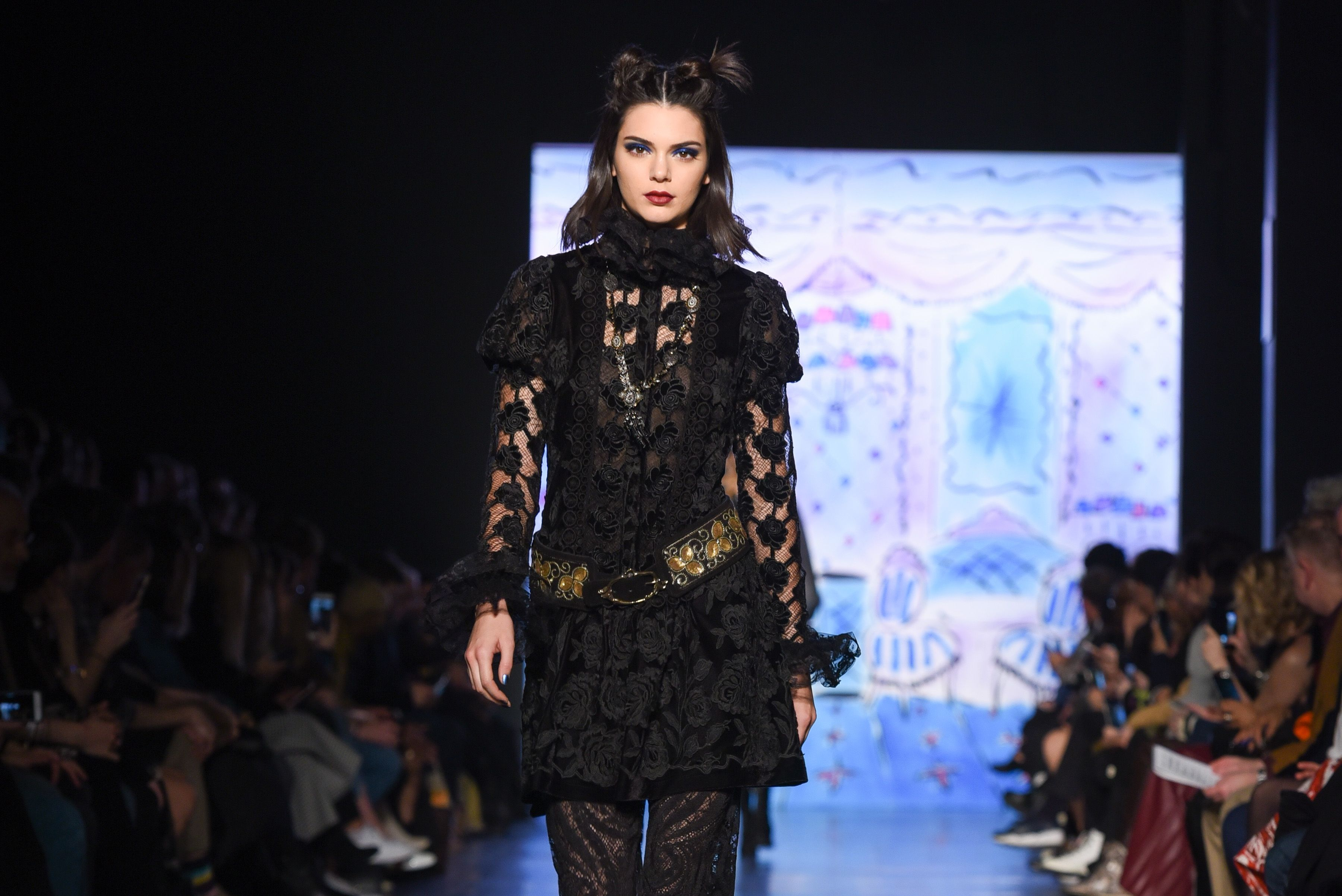 Anna Sui's Fall 2017 Show at Skylight Clarkson Square  / Getty