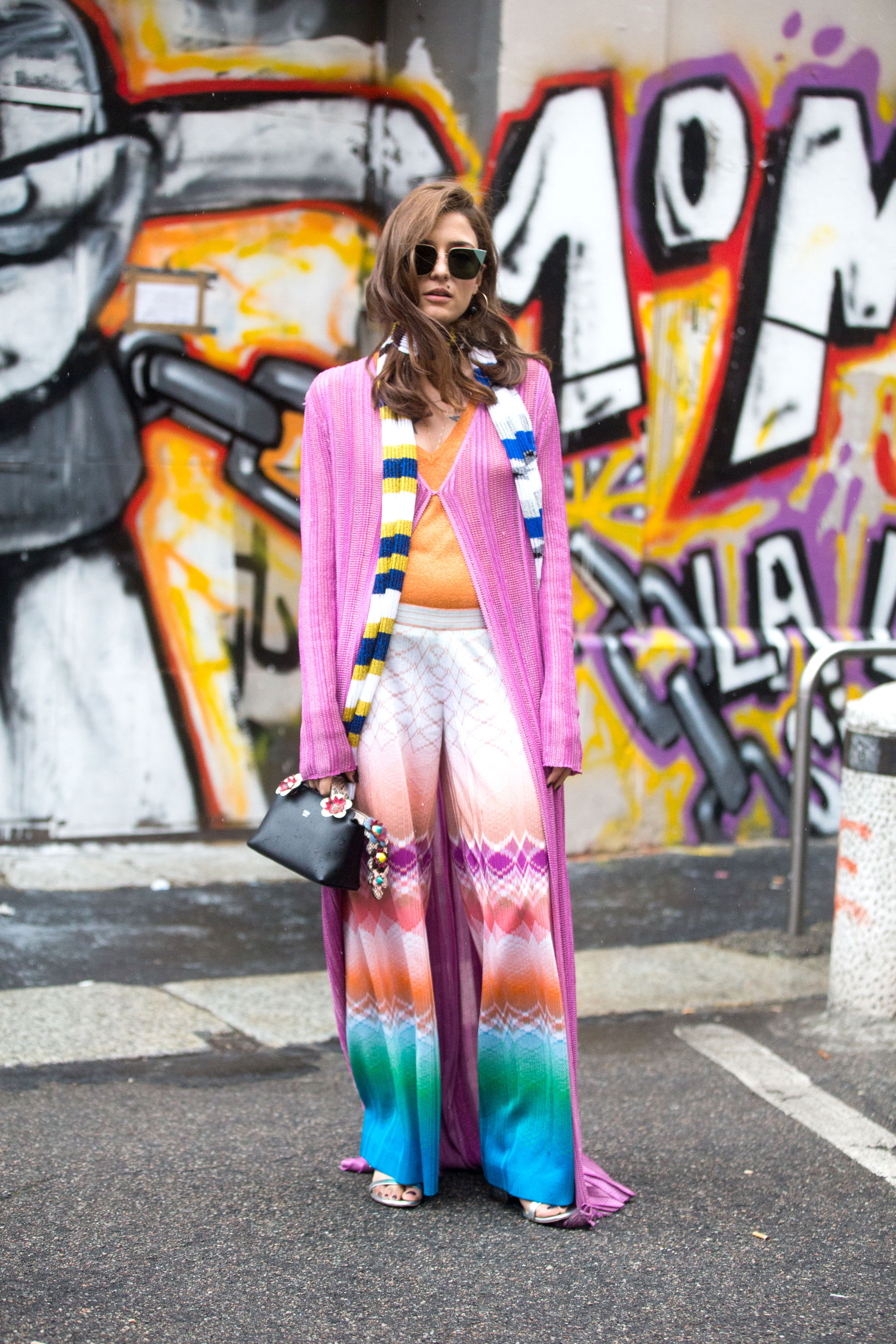 MILAN, ITALY - JUNE 19:  Eleonora Carisi wears Missoni during the Milan Men's Fashion Week Spring/Summer 2017 on June 19, 2016 in Milan, Italy.  (Photo by Melodie Jeng/Getty Images)