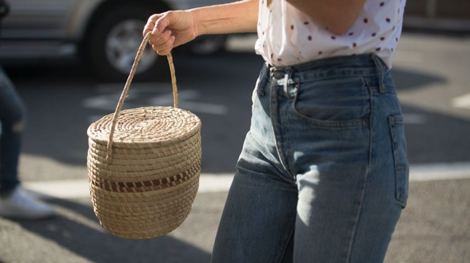 Just For The Beach Proof The Basket Bag Is Not Just For The Beach Fashion Magazine