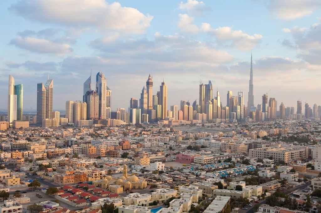 Dubai's city skyline  / Photo: Alamy