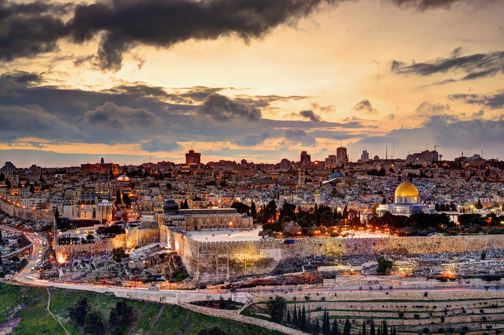 Jerusalem's Old City skyline in Israel  / Photo: Alamy