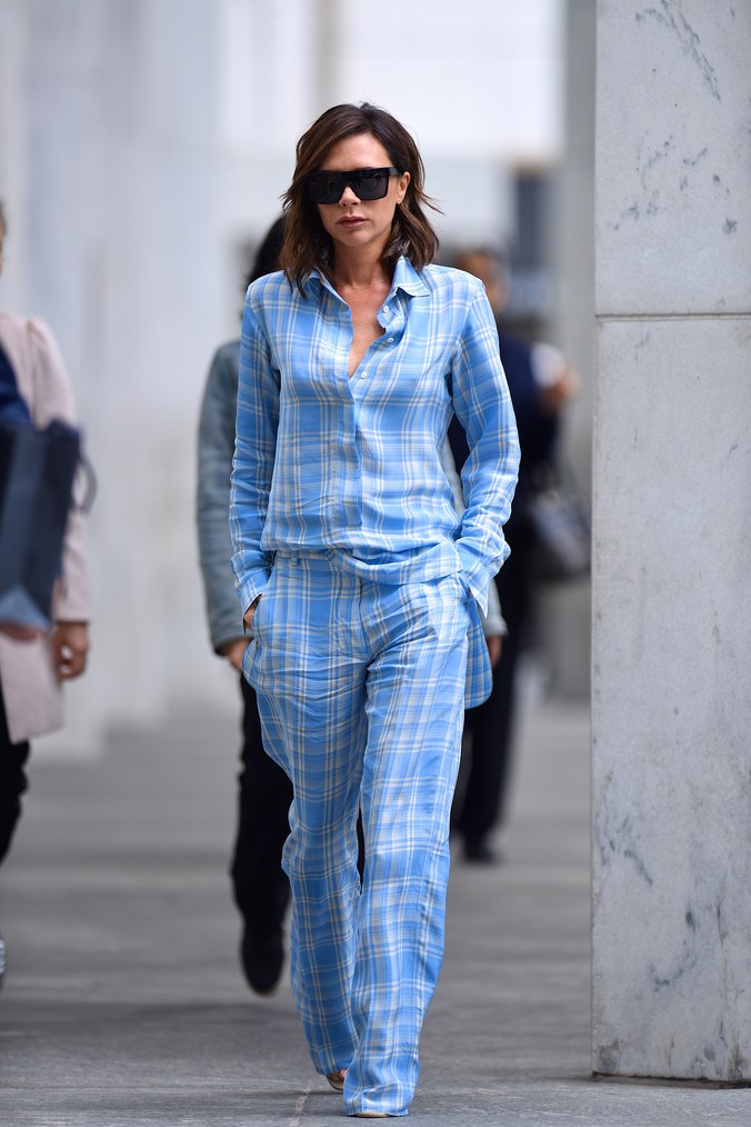 NEW YORK, NY - JUNE 07: Victoria Beckham seen out in Manhattan on June 7, 2017 in New York City. (Photo by Robert Kamau/GC Images) Robert Kamau/Getty Images
