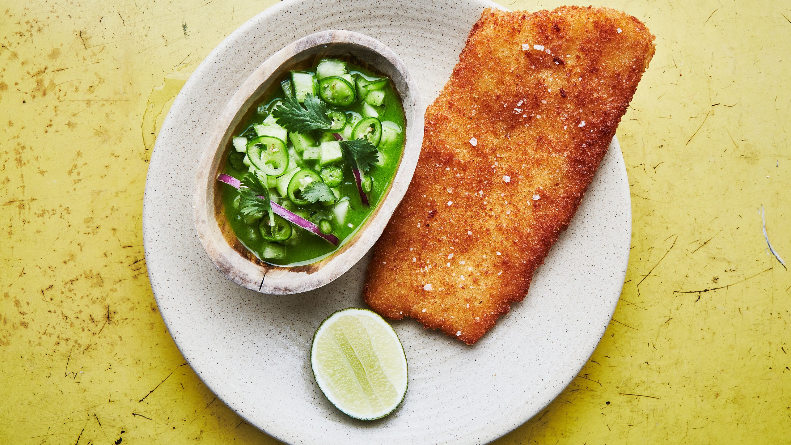 fish-milanese-with-cucumber-ceviche