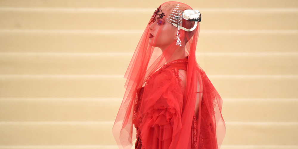 """NEW YORK, NY - MAY 01: Katy Perry attends the """"Rei Kawakubo/Comme des Garcons: Art Of The In-Between"""" Costume Institute Gala at Metropolitan Museum of Art on May 1, 2017 in New York City.  (Photo by Noam Galai/FilmMagic)"""