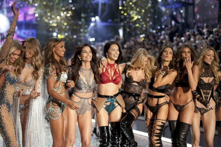 VS Angels at the 2016 show. Getty