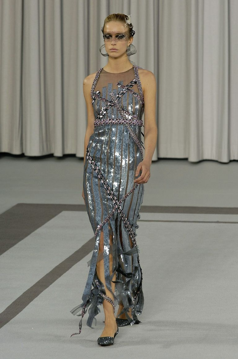 Chanel's 2007 spring/summer haute couture show Getty