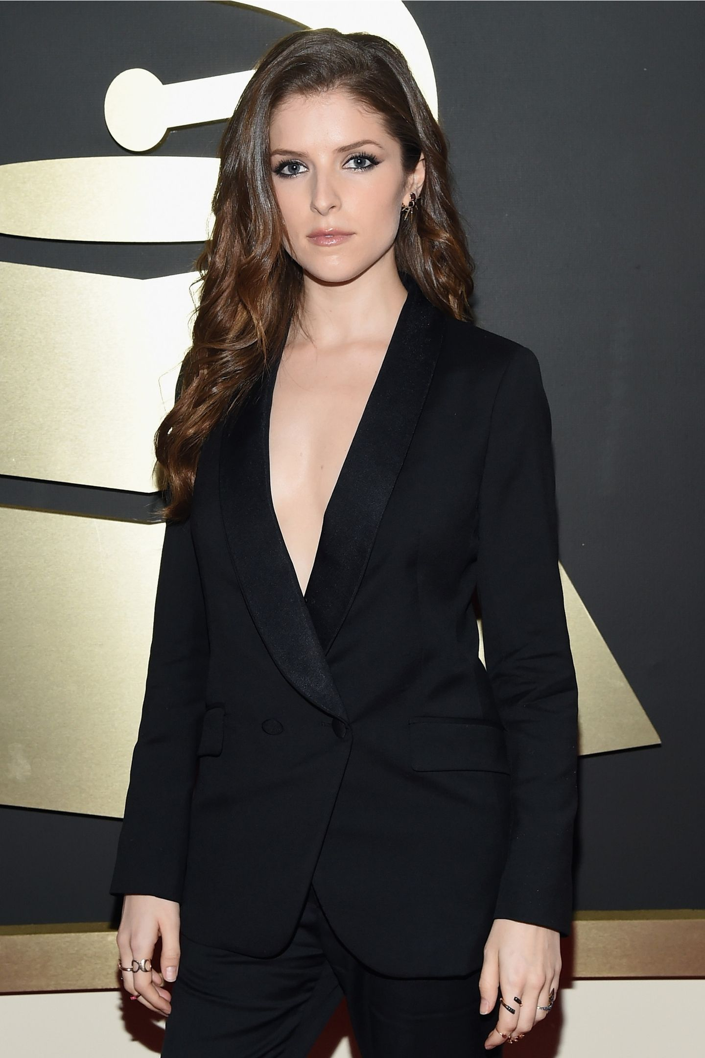 Anna Kendrick at the GRAMMY Awards in 2015  / GETTY