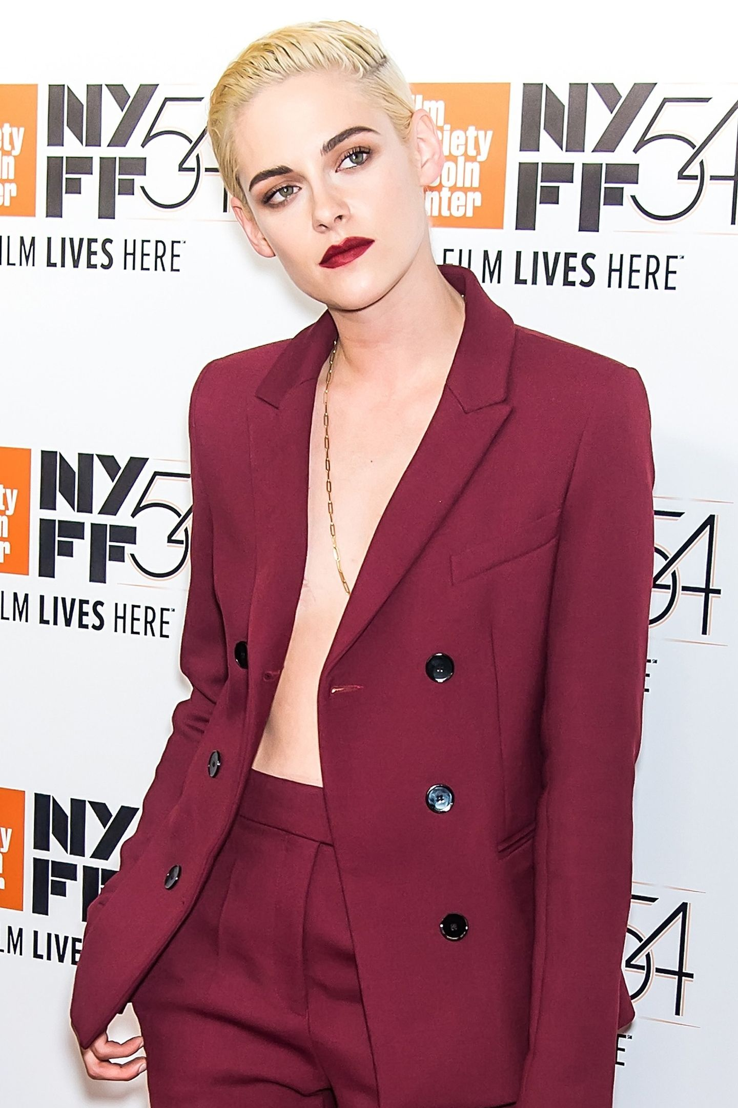 Kristen Stewart in October 2016 at the 54th New York Film Festival.  / GETTY