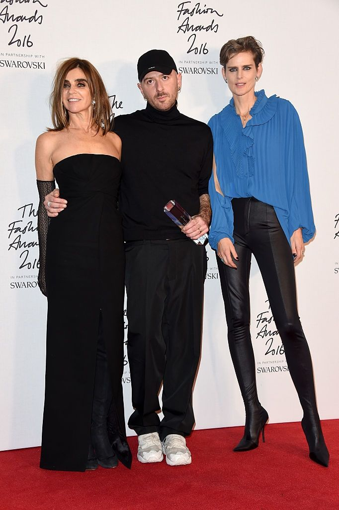CARINE, DEMNA GVASALIA, AND STELLA TENNANT  / GETTY