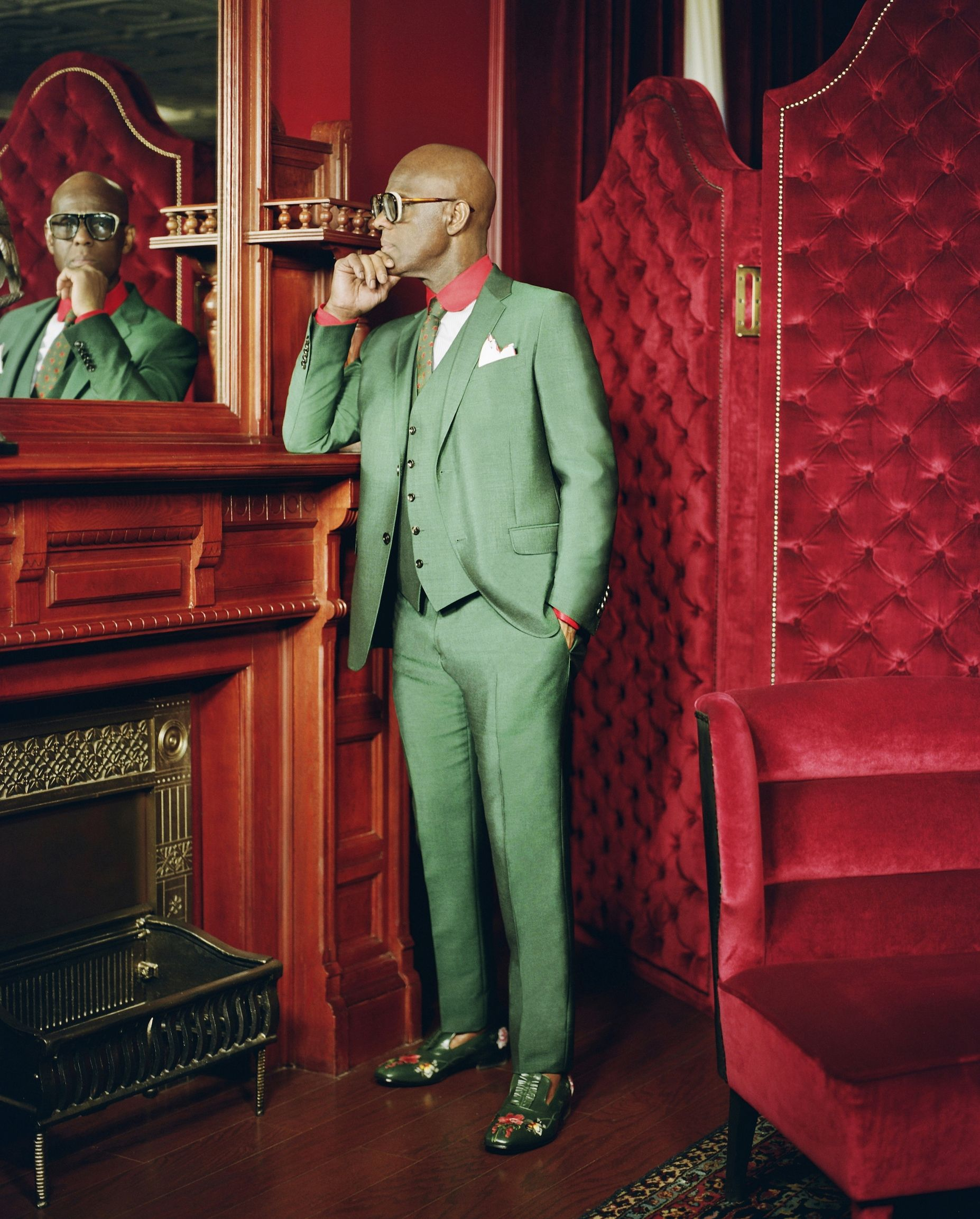 Dapper Dan  / RENELL MEDRANO FOR GUCCI