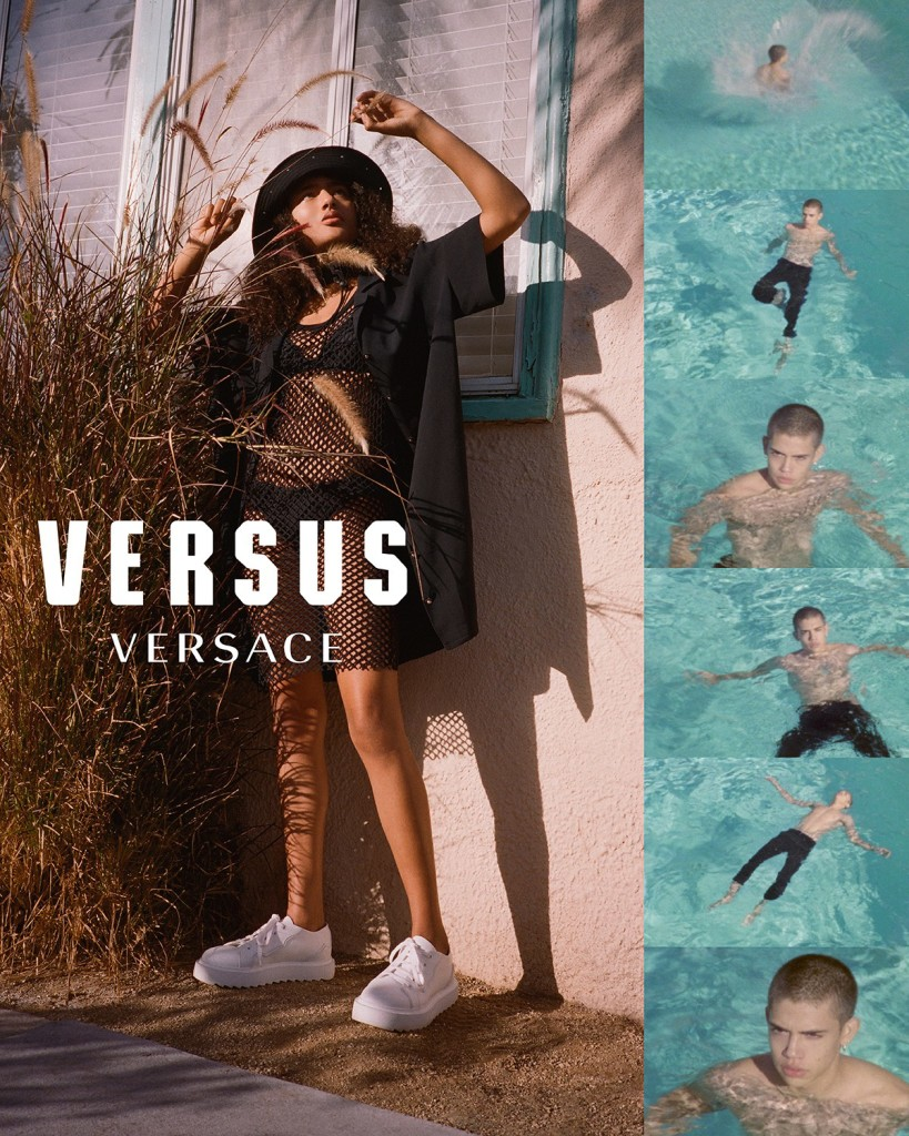 versus versace spring 2018 ad campaign fashion magazine cometrend. Black Bedroom Furniture Sets. Home Design Ideas