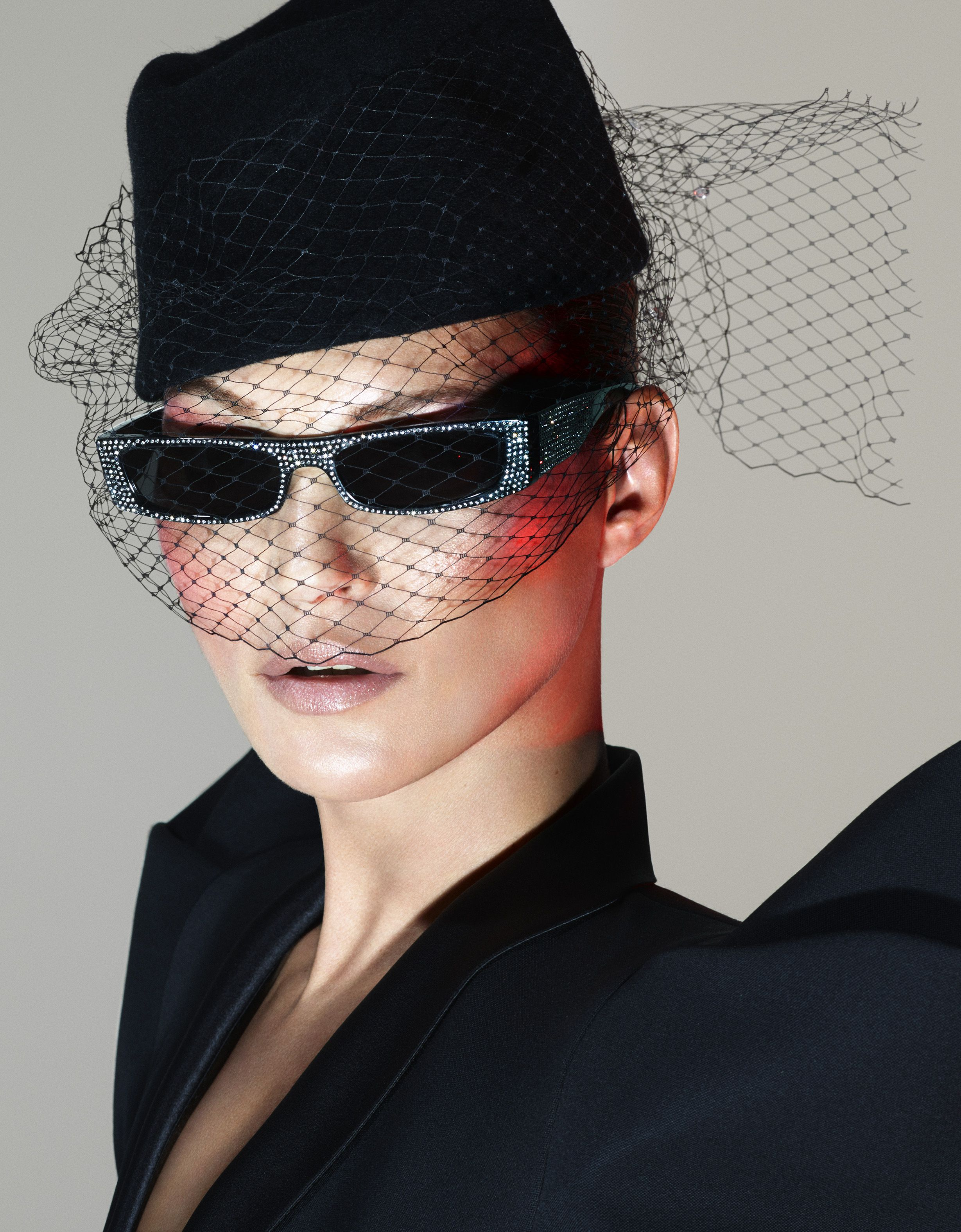 2fb56b1586 Kate Muoss Stuns In Alain Mikli And Alexandre Vauthier s New Eyewear Collab