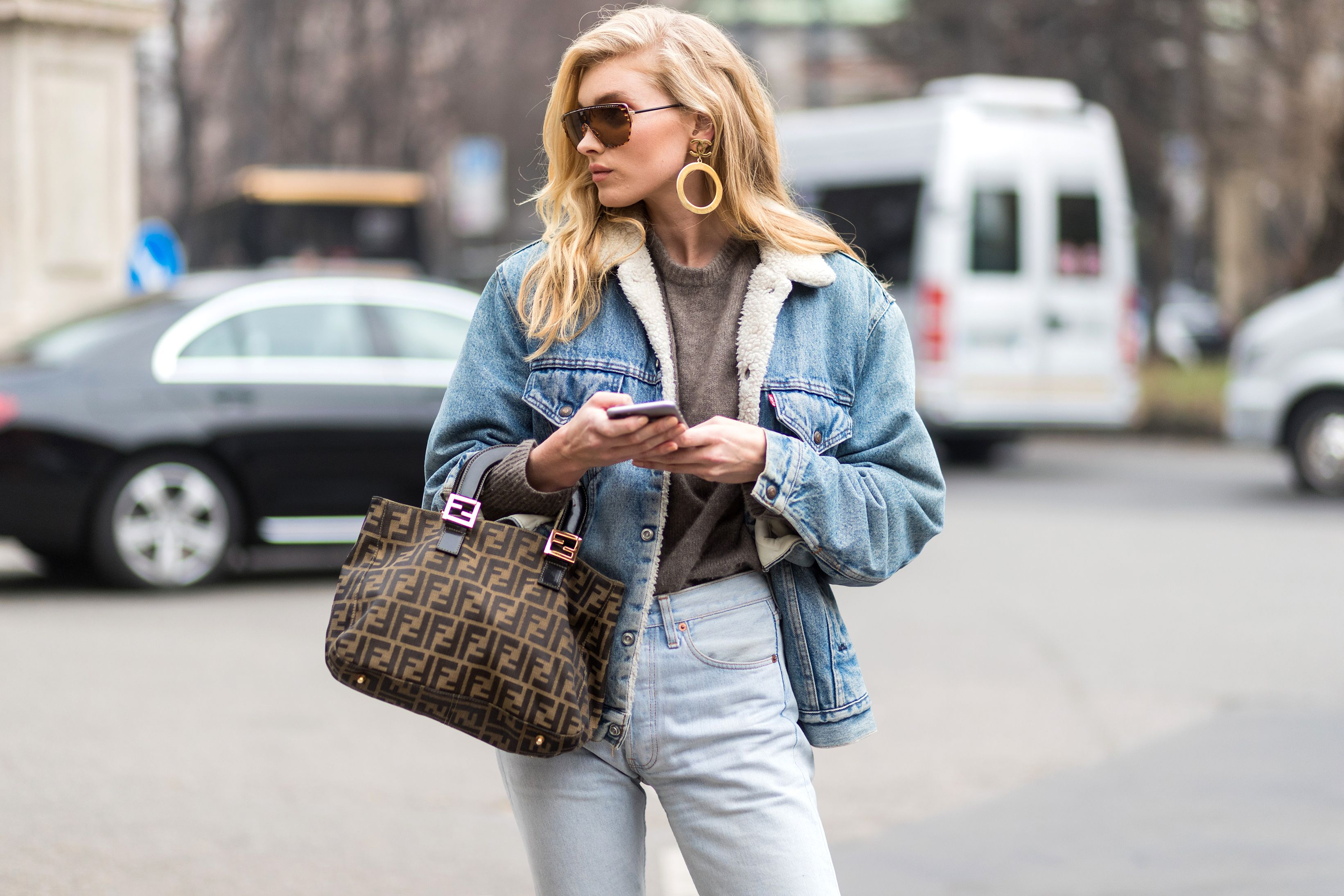 de6eb50d6aae How To Style A Denim Jacket From Winter To Spring – Fashion Magazine ...