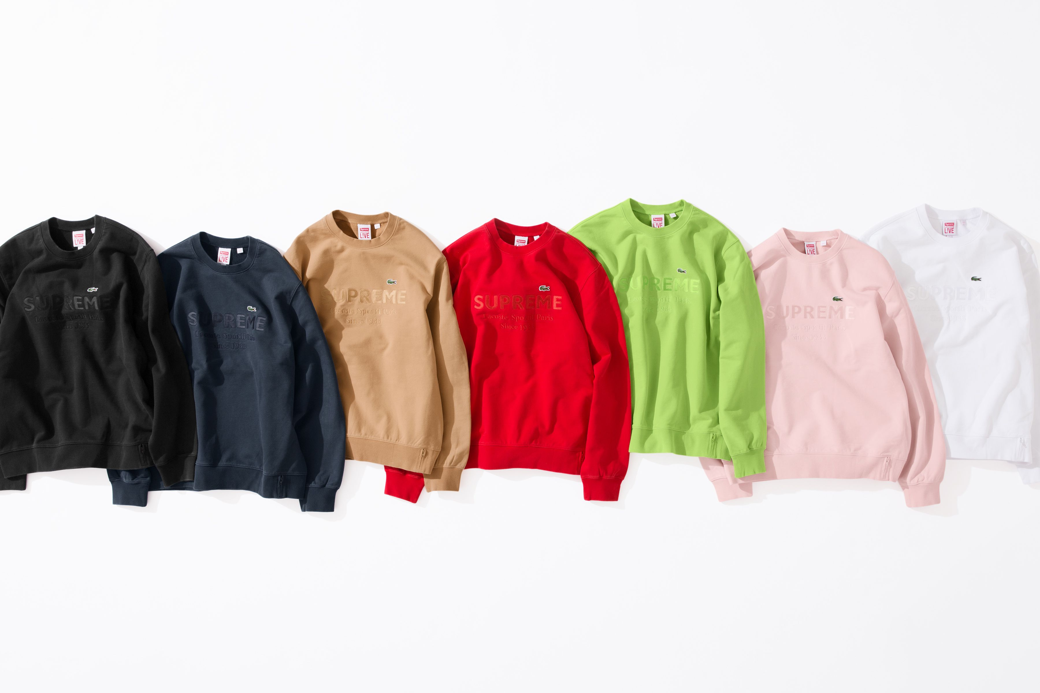 ad6c44eb8e2 The Supreme Lacoste Collab Is Even Better This Time Around – Fashion ...