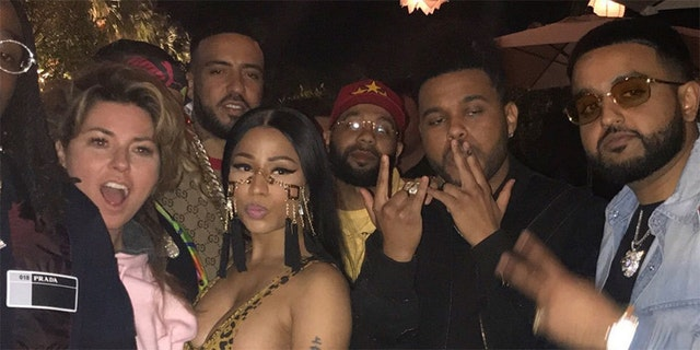 Timothée Chalamet Photobombed Nicki Minaj At Coachella